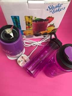 (FREE POS) Shake & Take 3 Juice Blender