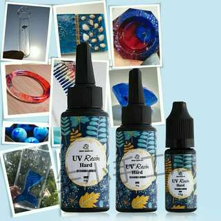 [PO] UV Resin Ultraviolet Curings Resin Solar Cure Resin Sunlight Activated Sunlight Jewelry DIY Crafts Transparent Clear Ornament