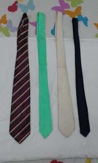 Bundle of 4: Neckties
