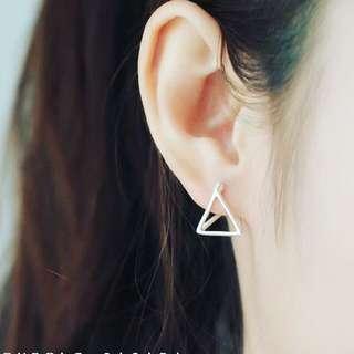 🚚 Liv Design #925純銀 手創設計款 #幾何 純銀耳環
