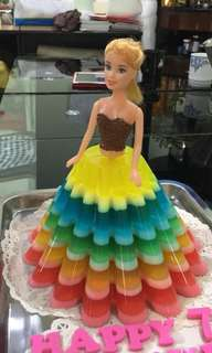 Jelly Doll Cake