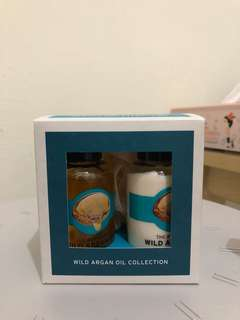 The body shop wild argain oil collection