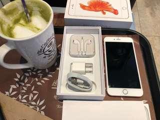 iPhone6s plus 32gb rosegold