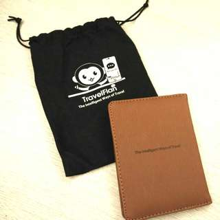 多用途文件/護照套及收納索袋 Document/Passport Case with drawstring bag