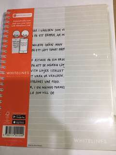 whitelines notebook