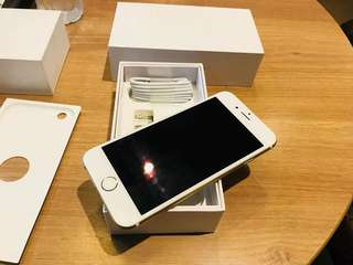 iPhone6 64gb Gold  Globelocked