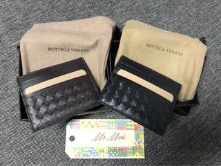 Bottega Veneta BV wallet Card Holder black & brown color