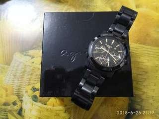 Agnis b 黑鋼手錶