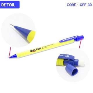 MECHANICAL PENCIL PENSIL MEKANIK ISI 3PCS (OFF-30)