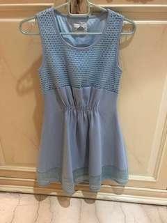 NEW dress biru / blue dress