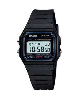 Casio Unisex Digital Resin Strap Watch