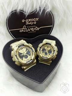 G SHOCK COUPLE SET