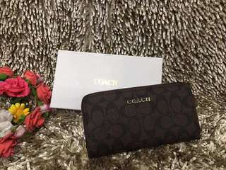 SuperSale! Coach Long Wallet