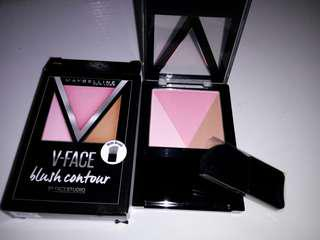 Blush contour Maybelline