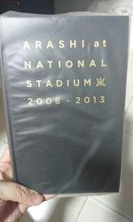 Arashi at National Stadium 2008 - 2013 Photobook