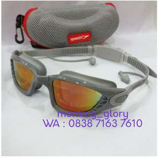 Kacamata Renang Riben SPEEDO 88 S/ Anti Fog & UV Shield Swimming Goggles