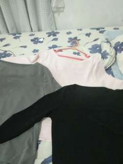 Sweater Pink, Black and Gret