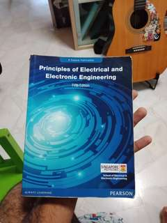 Principals of electrical and electronic engineering