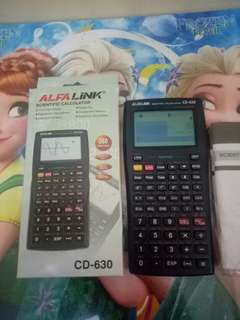 ALFALINK Scientific Calculator CD-630