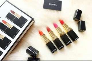 Chanel Lipstick Set