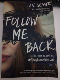 """FOLLOW ME BACK"" book"