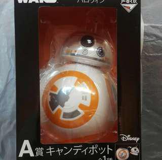 一番獎 A獎 Star Wars BB-8糖果筒 全新未開封