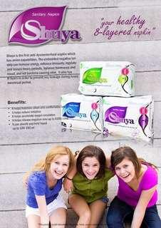 Shuya sanitary pads (organic)