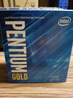 Intel G5400 Pentium Gold CPU
