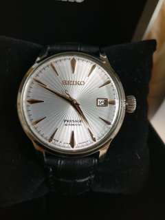 95% new Seiko presage cocktail time automatic watch