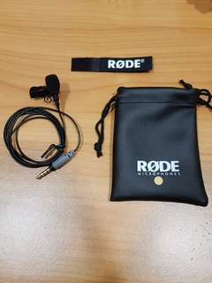 Smartlav+ Rode Lavalier Microphone (Lapel Mic) for Mobile Phone