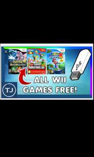 PROMO Wii Games