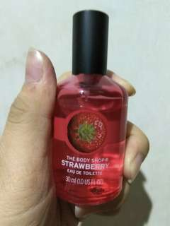The Body Shop perfume eau de toilette (Tersedia 2 varian: Strawberry & Mango)