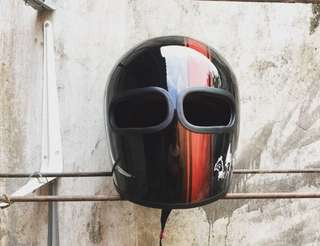 Custom helmet Xf gp rare
