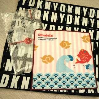 [日本直送產品] Japan OmedeTai Towel 日本可愛棉質小毛巾/ 小方巾