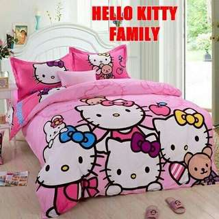 Cadar Hello Kitty Fitted Queen