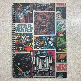 Star Wars themed Notebook from Typo