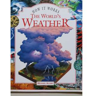 English Book : The World's Weather ( Michael Allaby )