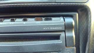 Kenwood  INDASH Single Diñ KVT-534DVD