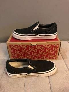 Vans Classic Slip on (black/ true white)