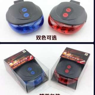 Lampu Belakang Sepeda Laser + LED Gen 2 / Laser LED Tail Light Gen 2 - Biru