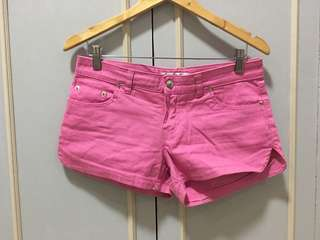Pink sexy shorts