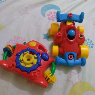 Toy Car and Camera