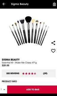 Sigma Beauty - Make Me Classy Brush Set