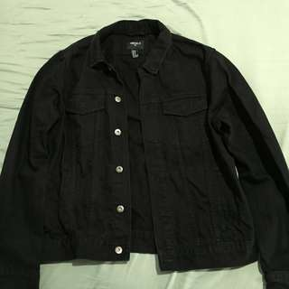 Black denim jacket(forever 21)