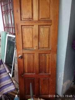 Door / Pintu Kayu Luar
