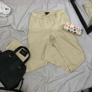 H&M Beige Mid-waist Pants