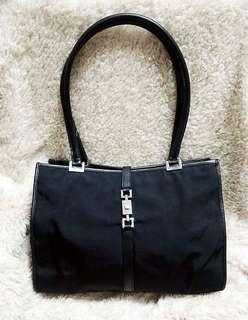 Gucci bag 黑色布袋