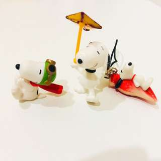 Snoopy display set
