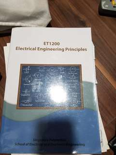 ET1200 Electrical Engineering Principles Textbook