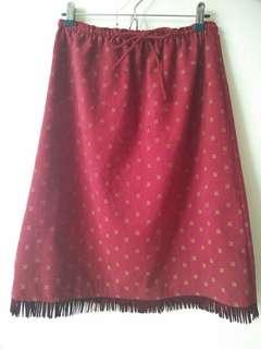🚚 麑绒紅裙